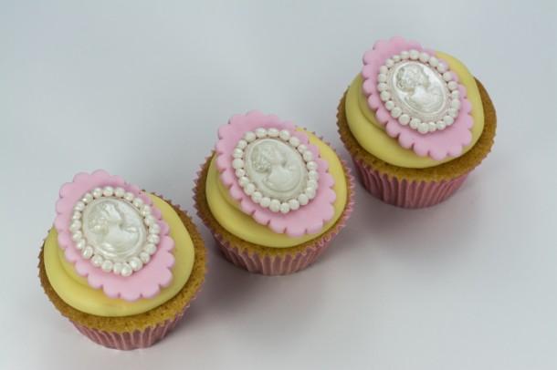 Cupcake Camafeu