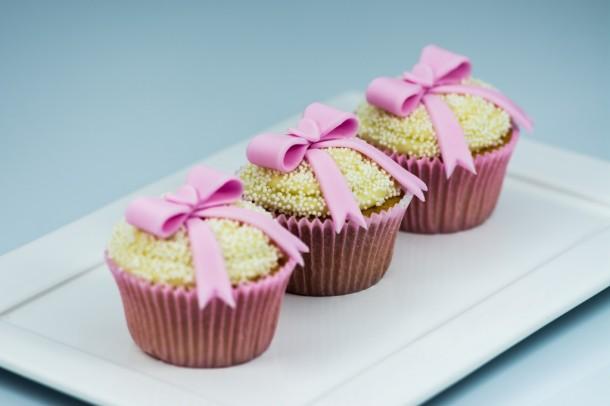 Cupcake Laço