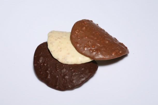 Tuiles de chocolate